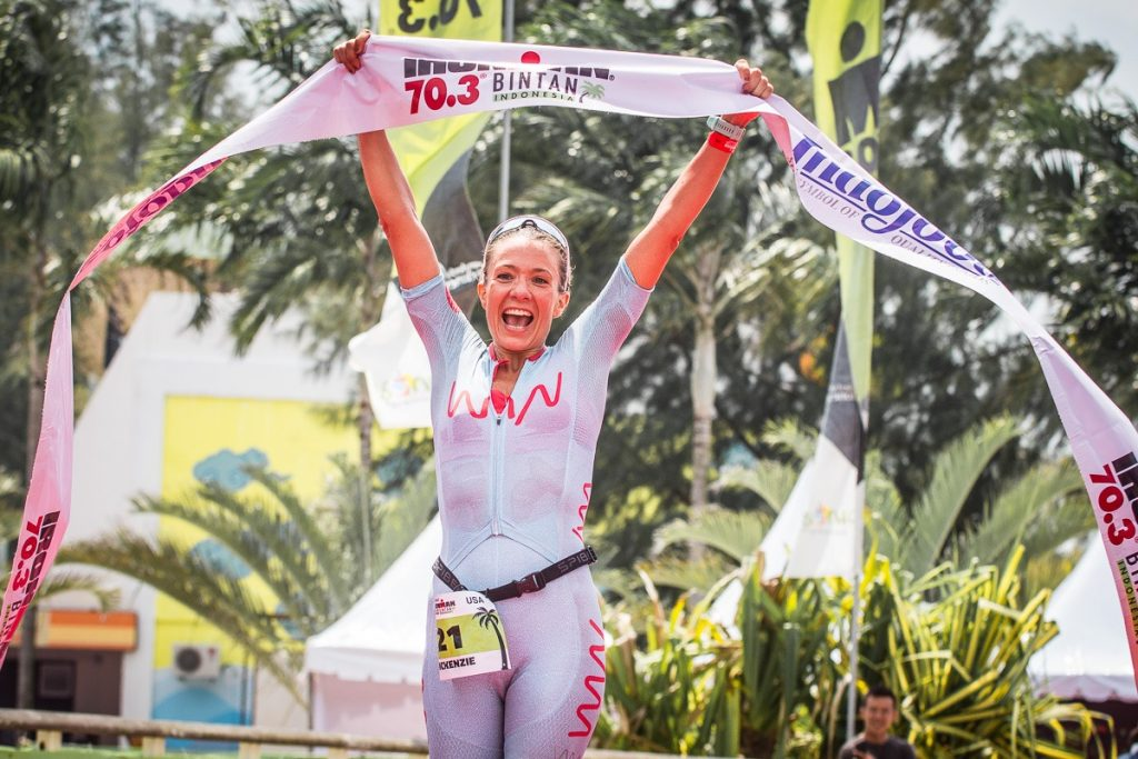 McKenzie takes 2018 IRONMAN 70.3 Bintan victory